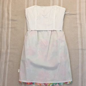 Lilly Pulitzer Dresses - Lilly Pulitzer Strapless Floral Dress